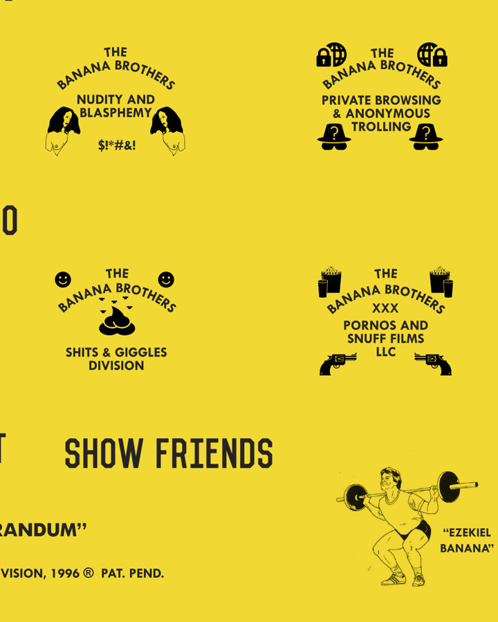 Banana Brothers Poster